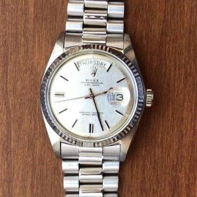 Rolex 1803 勞力士1803 WG白金單錶頭(06/19已交誼)