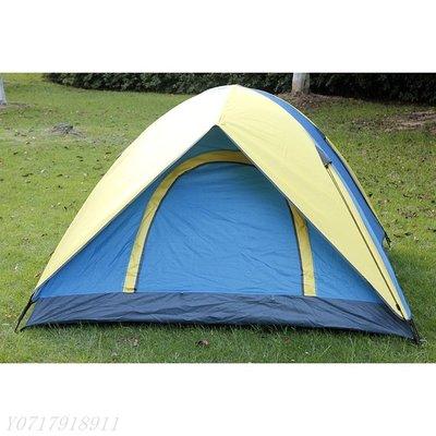 ☀無憂戶外☂單人雙人四人單層圓開門帳篷野營帳篷戶外帳篷 F483