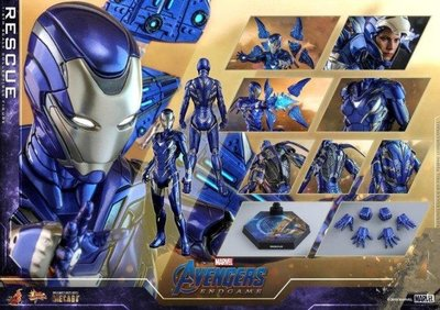 公眾次日29/5 Hot toys avengers iron man mk Mark49 Rescue救援裝甲Pepper Potts小辣椒Diecast合金