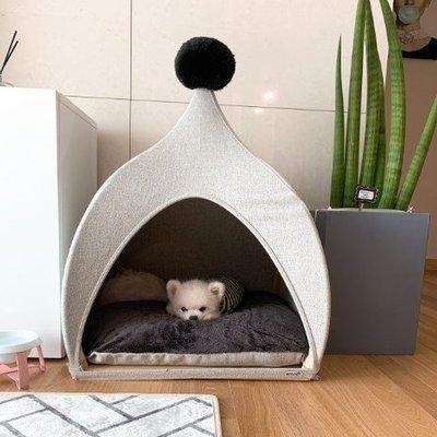 寵物之家『Memory Pet』韓國代購直郵寵物帳篷貓狗蒙古包尖頂木質小房子