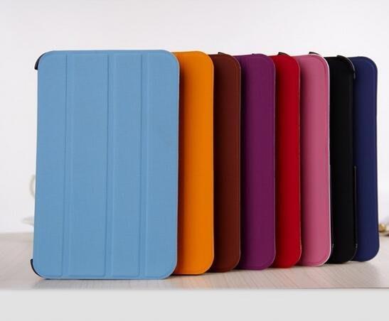 三星平板電腦Galaxy Tab P6200/P3100 保護皮套 belk款 456