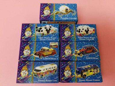 Tomica x Disney 35 週年 限定 7款 (不散賣)