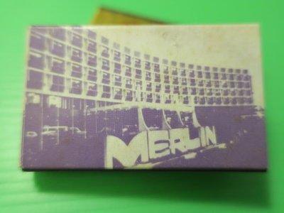 外國火柴盒-早期新加坡MERLIN HOTEL火柴盒