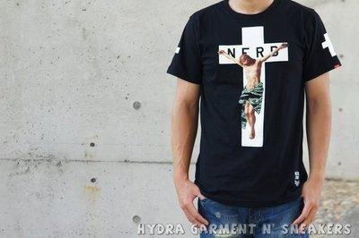 【HYDRA】馬來西亞 Nerd Unit  CAMO CROSS JESUS TEE 迷彩 耶穌 十字架 S / M / L / XL