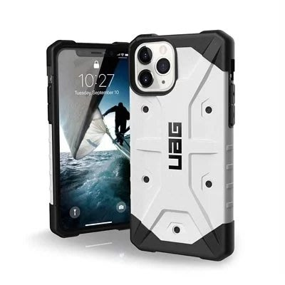促銷 台灣公司貨 UAG 美國軍規 iPhone 11 Pro 5.8 吋 翻蓋式耐衝擊保護殼-黑 防摔殼 耐衝保護殼