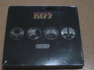正版4CD《吻合唱團》樂迷專屬特選輯 ( 4CD限定盤 )/ Kiss Ikons ( THE NEW 4CD COLL