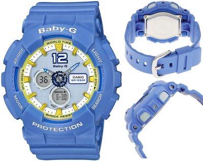 日本正版 CASIO 卡西歐 Baby-G BA-120-2BJF 女錶 女用 手錶 日本代購