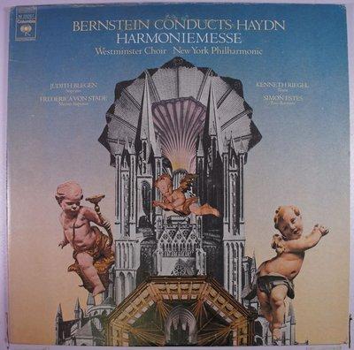 《二手美版黑膠》Bernstein Conducts Haydn, Westminster Choir*, New