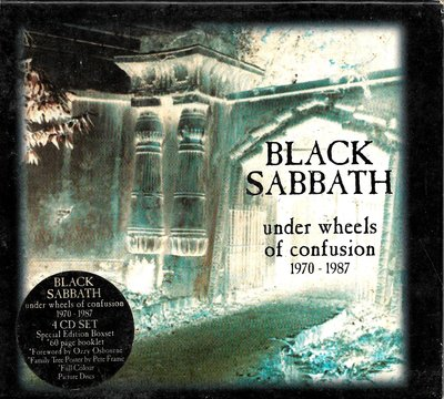 黑色安息日Black Sabbath / Under Wheels Of Confusion 1970-1987