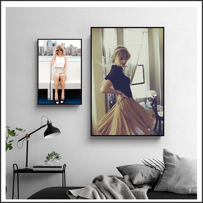 日本製油畫布 明星海報 泰勒絲 泰勒斯 Taylor Swift 掛畫 裝飾畫 @Movie PoP 賣場多款明星海報#