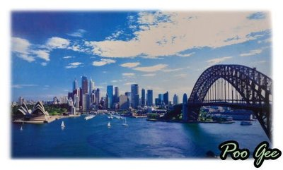 Poo Gee 噗嘰~2000片夜光拼圖 (Sydney Opera Douse) 只要700元