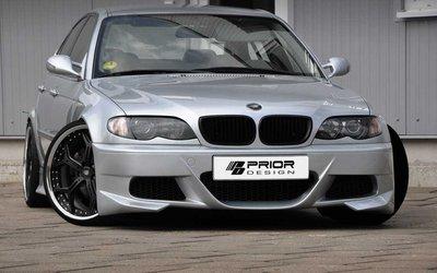 【樂駒】PRIOR DESIGN PD Aerodynamik BMW 3er E46 Limousine 空力 外觀