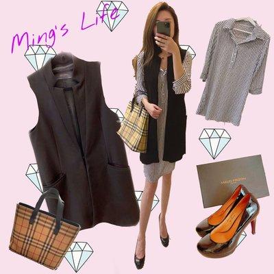 ZARA x 自有品牌 立領西裝背心+襯衫式洋裝《OL選品區》~Ming's Life