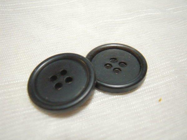 ※布箱子※ 縫紉拼布手作配件~扣子.鈕扣.釦子(DT400)~四孔~20mm~剩最後2個