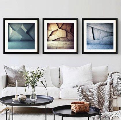 『格倫雅』抽象城市流現代簡約抽象客廳裝飾畫掛畫壁畫沙發背景墻墻畫三聯畫^27704