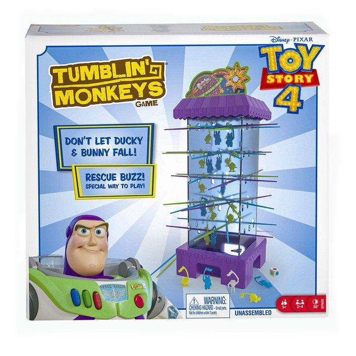 骰子人桌遊-(特價)玩具總動員4大挑戰Tumblim' Toy 4(英)跳跳猴大挑戰.大冒險(玩具總動員版)