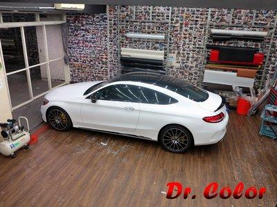 Dr. Color 玩色專業汽車包膜 M-Benz C300 Coupe 類全景式天窗