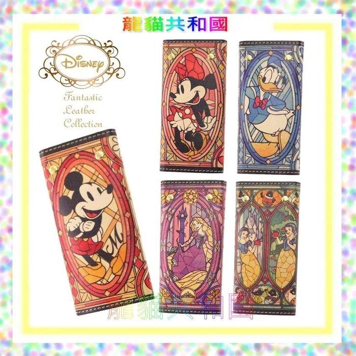 日本迪士尼DISNEY《全真皮牛皮Mickey米奇米妮Minnie唐老鴨Donald鑰匙包鑰匙圈 》生日情人節聖誕節禮物