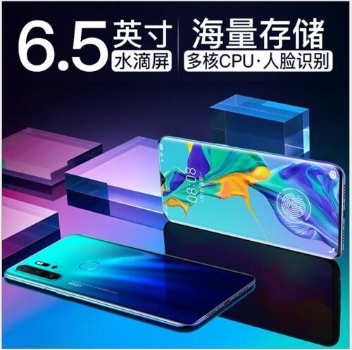 新款 X21S 水滴屏6.5寸大屏全網通智慧手機 8G+128G指紋吃雞遊戲手機#11700