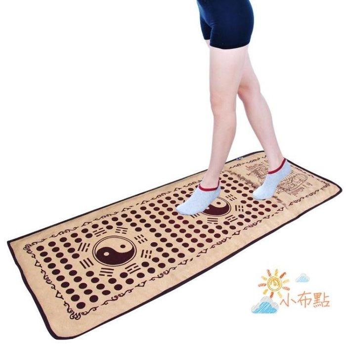 腳底按摩器腳底足底按摩墊器仿鵝卵石石子路足部按摩走毯雨花石指壓板