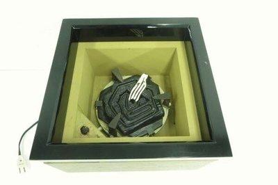日本茶道具 野々田式 炭型電熱器 箱型