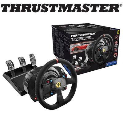 (宅配免運費)THRUSTMASTER T300AE FERRARI 賽車方向盤 PS5 PS4 PS3 PC 公司貨