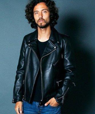 [ Satisfaction ] 日本設計師品牌MAGINE斜拉鍊騎士羊皮皮衣