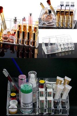 【 】 壓克力透明 置物收納盒  唇膏  刷具  化妝品  保養品 儲物盒 美妝小物JL-1029
