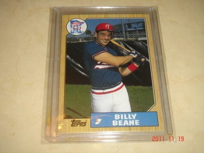 美國職棒 General Manager Billy Beane 魔球Money Ball 2004 Topps 球員卡