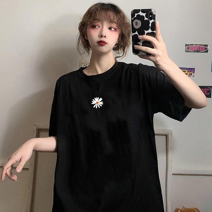 ❤Princess x Shop❤小雛菊韓版顯瘦寬鬆短袖t恤TM-20-2韓國同款女裝