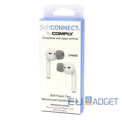 Comply SoftConnect Compatible with Apple Airpods
