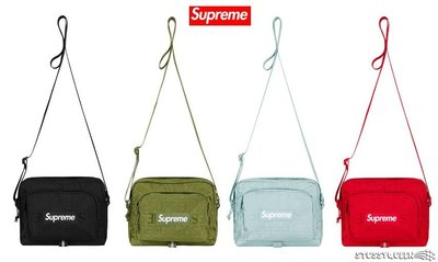 【超搶手】全新正品2019 SS 春夏Supreme Shoulder Bag 46代 46TH  單肩包 小包 4色