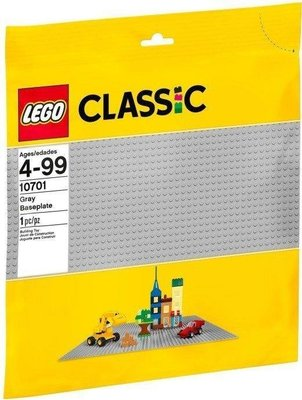 【LETGO】現貨 原裝正品 樂高 LEGO 10701 灰色底板 39x39cm 經典 灰色底板 零件