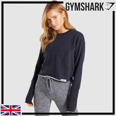 ►瘋狂金剛◄ 黑 GYMSHARK SLOUNGE CRESCENT SWEATER 寬鬆休閒毛衣