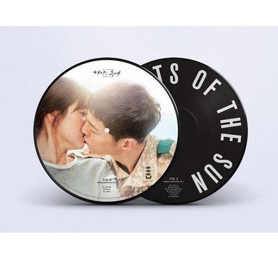 太陽的後裔 韓劇原聲帶 2LP彩膠唱片-黑