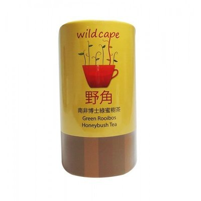 Wild Cape 南非國寶茶 野角南非博士綠蜜樹茶 40包/罐