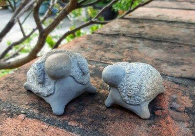 Q版石雕棉羊(蘇承志作)