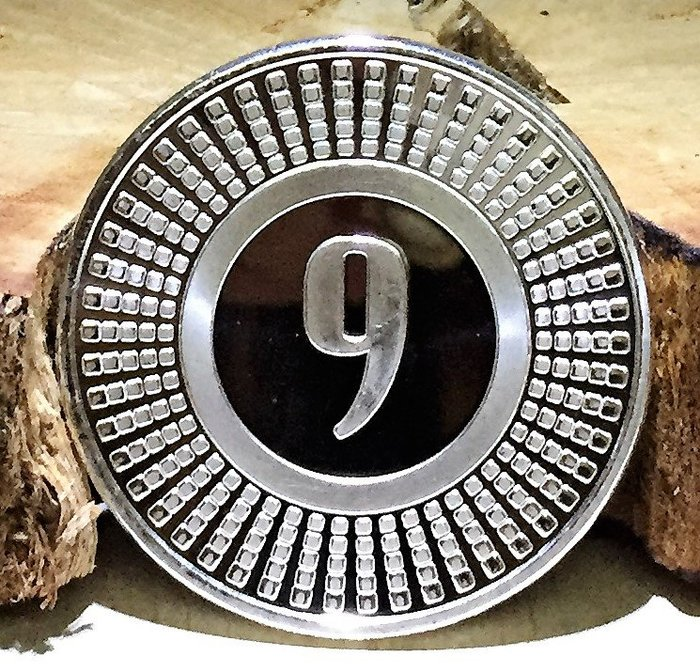 9Fine Mint 品牌 (Radial) 徑向銀幣 (1 toz)