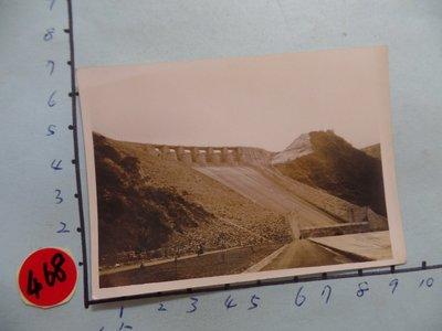 桃園,石門水庫,,古董黑白,照片,相片