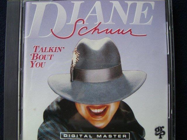 ※※日影迴廊※※二手原版進口CD【Diane Schuur -TALKIN BOUT YOU】黛安索爾.日本壓片
