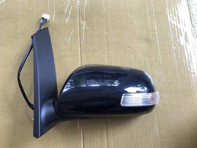 懶寶奸尼 TOYOTA 豐田 正廠 WISH 年份07-09  照後鏡 後照鏡 後視鏡 電動摺疊+方向燈 7線