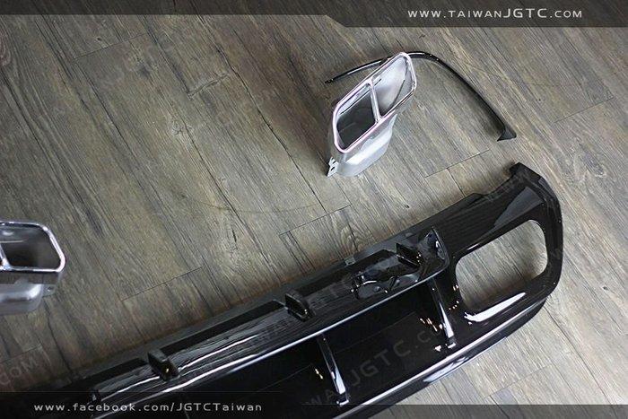 TAIWANJGTC BENZ W117 A45 AMG 後期 後下擾流 尾飾管 氣口貼片