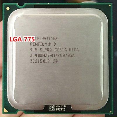 5Cgo【權宇】Inte 奔騰Dl 雙核心 PD945 CPU 3.4GHz 4M 65ns 775腳 含稅會員扣5% 台北市