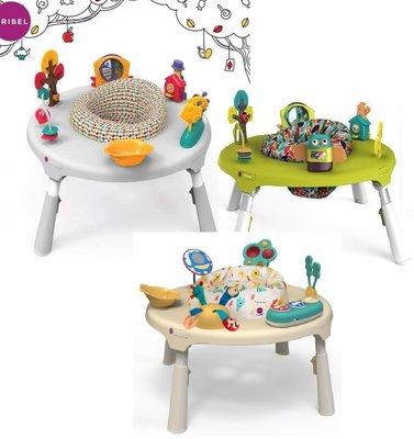 Oribel PortaPlay新加坡成長型多功能遊戲桌嬰幼兒多功能二合一玩具桌仙境探險灰森林好朋友綠色怪獸星球奶油黃