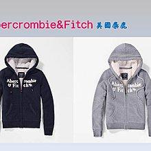 Abercrombie&Fitch AF字母麋鹿雪帕內裏款式-灰色,美國麋鹿女生連帽外套纯棉休閒帽T【A&F全新品】