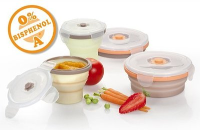 babymoov Silicone Container矽膠摺疊碗  240ML