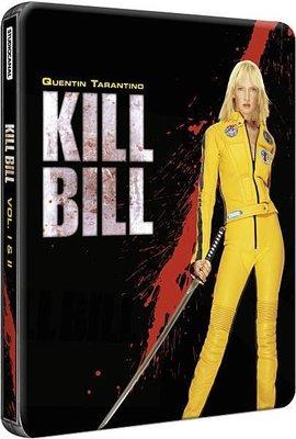 【BD藍光】追殺比爾 1+2:雙碟專屬限定鐵盒版Kill Bill