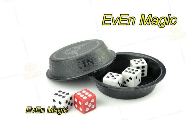【意凡魔術小舖】隱形飛渡骰子 飛天骰 骰子位移 瞬移的骰子 近距離魔術小朋友禮物親子互動