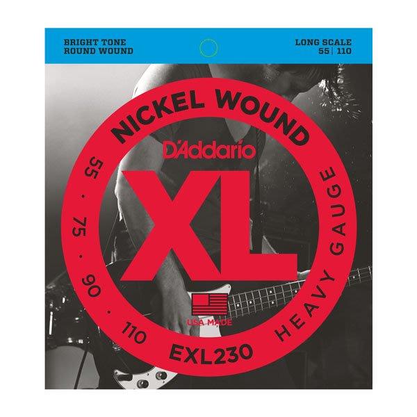 ☆唐尼樂器︵☆全館免運 D'Addario EXL230 (55-110) 貝斯 Bass 4弦鎳弦套弦