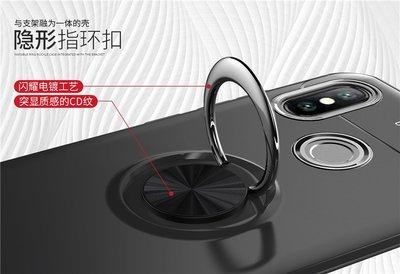 小米Pocophone F1隱形支架TPU手機殼 MAX3磁吸車載指環軟膠防摔套紅米6 小米6X/A2